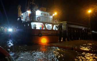 Minyak Mentah PT CPI Cemari Laut Dumai