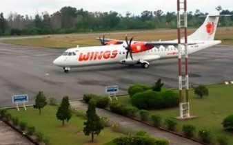 Penerbangan Wings Air di Dumai Dipercepat, Dua Penumpang Dirugikan