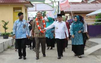 Tim Penilai Nasional Verifikasi Kampung KB Keberkahan Bersama