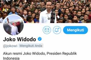 Salah Unggah Cuitan Twitter, Pengelola Akun Presiden Dibebastugaskan