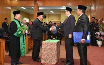 Pengganti Antar Waktu, Syaukani Resmi Jadi Anggota DPRD Bengkalis