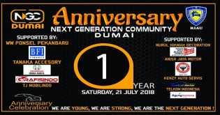 NGC Dumai Gelar Anniversary ke 1