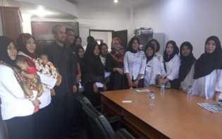 Komisi A DPRD Rohil Tampung Keluhan Bidan PTT