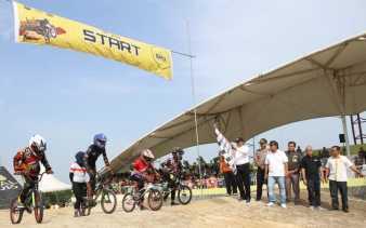 Alfedri berharap BMX Local Competition Ajang Lahirnya Pembalap Profesional