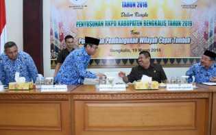 Bengkalis Prioritaskan Enam Pembangunan Daerah di Tahun 2019 Mendatang