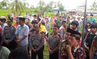 Pemakaman Korban Kerusuhan Berujung Maut di Hadiri Dua Petinggi Mabes Polri
