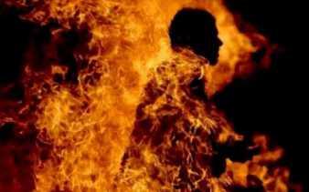 Kawal Demo Mahasiswa, Polisi Terbakar Hidup-hidup