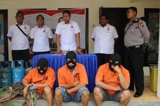 Kompolotan Pencurian Kabel Tower Telepon di Pelalawan Sukses Digulung Polisi