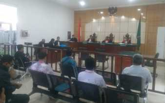 Sidang Dugaan Pelanggaran Pemilu Eko Suharjo, Gakkumdu Dumai Hadirkan Tiga Saksi