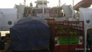 BREAKING NEWS : Syahbandar Bengkalis Tahan Keberangkatan Kapal Roro KMP Swarna Putri