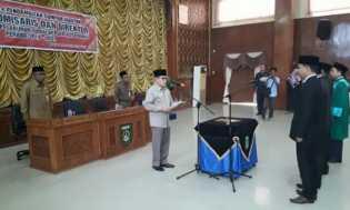 Lantik Komisaris dan Direktur BUMD Pelabuhan Dumai Bersemai, Ini Pesan Walikota