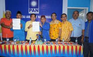 PAN Inhil Deklarasikan Dukungan Terhadap Pasangan H Muhammad Wardan - Syamsuddin Uti