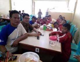 Peserta dari Tanjung Pauh Masuk 16 Besar Turnamen U-12 AQUA di Palembang