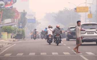 Kualitas Udara Tidak Sehat, Pemko Pekanbaru Perpanjang Libur Sekolah