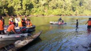 Tenggelam di Sungai Kampar, Korban Ditemukan Tidak Bernyawa