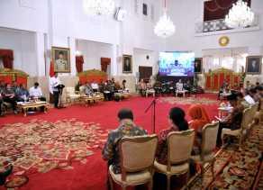 Kaget Pemerintahnya Dipercaya Rakyat, Ini Tanggapan Presiden Jokowi