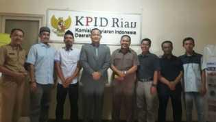 Komisi I DPRD Kunjungi KPID Riau
