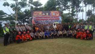 Riau Bebas Asap 2020, Polres Kuansing Gelar Apel Bersama