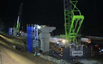 Antisipasi Kecelakaan Kerja, Seluruh Pembangunan Proyek Elavated Dihentikan