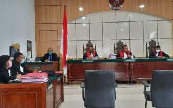 Hakim Dumai Vonis Mati Satu Oknum Polisi dan Kurir