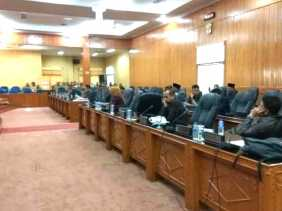 Sidang Paripurna Sahkan Abdul Kadir Pimpin DPRD Bengkalis