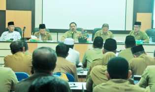 Sekda Inhil Pimpin Rapat Persiapan MTQ Kabupaten Ke 47