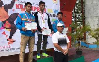 Unggul Sementara, Inhu Berpeluang Sabet Juara Umum Kejurprov Panjat Tebing