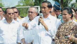 Presiden Jokowi : Inflasi RI Terendah Dalam 7 Tahun