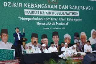 Presiden Jokowi Ajak Ulama Terus Berikan Keteduhan