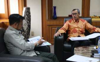 Gubri Temui Menteri Pertanian Syahrul Yasin Limpo