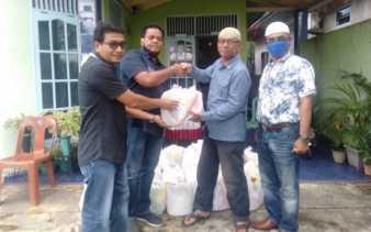 PT MWP Dumai Peduli Covid-19 Salurkan 500 Paket Sembako