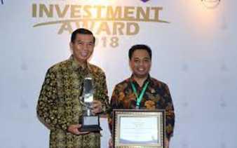 DPMPTSP Pekanbaru Raih Penghargaan Investment Award 2018
