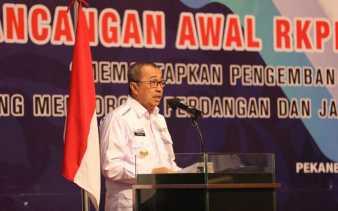 Gubri Paparkan Lima Prioritas Pembangunan di Riau
