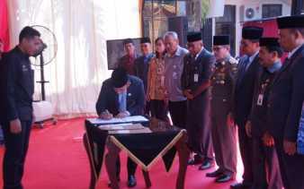 DPMPTSP Dumai Teken MoU Tentang Pelayanan Perizinan Berusaha Terintegrasi Secara Elektronik