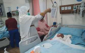 Bayi Penderita Penyakit Langka Mendapat Perawatan Intensif di RSUD Arifin Achmad