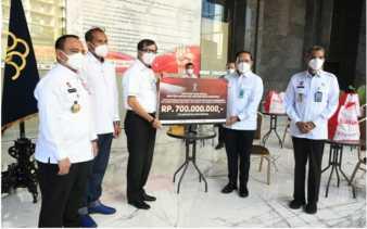 Kumham Peduli Salurkan 46 Ribu Paket kepada Masyarakat Terdampak Covid-19