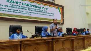 Ketua DPRD Inhil Bimbing Langsung Peserta Jambore Anak PMKS