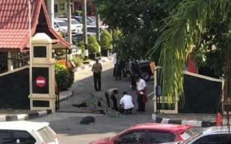 Jenazah Empat Pelaku Teror Mapolda Riau Belum Dijemput Keluarga