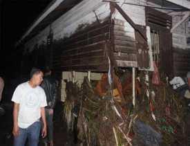 Puluhan Rumah di Padangsidimpuan Diterjang Banjir Bandang, 4 Warga Tewas dan 1 Hilang