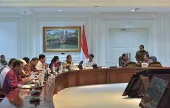 Presiden Jokowi Minta Program Pertanian dan Dana Desa Mampu Sejahterakan Masyarakat