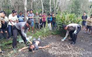 Diduga Dibunuh OTK, Seorang Pria Ditemukan Bersimbah Darah di Kebun Sawit