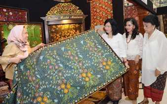 Kuasai Pasar Dunia, Ekspor Batik Nasional Lampaui 58 Juta Dollar