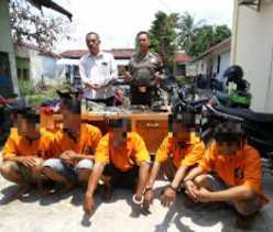 10 Kali Beraksi di Pekanbaru, Komplotan Curanmor ini Pakai Pistol Mainan untuk Takuti Korban