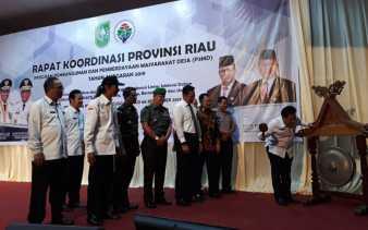 Pemprov Riau Gelar Rakor P3MD 2019