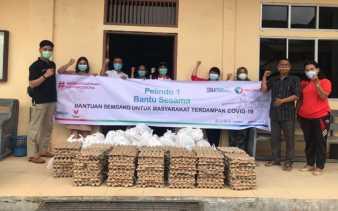 Pelindo I Salurkan 3.080 Paket Sembako ke Warga Nasrani Terdampak Covid-19