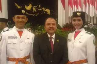 Mantap...! Dua Anak Asal Riau Terpilih Sebagai Paskibraka di Istana Negara