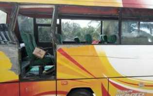 Bus Kontingen MTQ Riau dari Rohul Kecelakaan, Satu Orang Meninggal