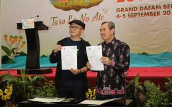Gubernur Riau Teken MoU dengan ICCN di ICCF 2019