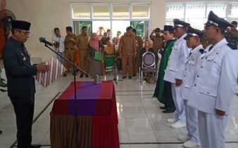 Bupati Kuansing Lantik Tiga Kades di Kecamatan Inuman