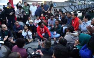 Bincang Santai Jokowi Dengan Pelajar dan Mahasiswa Indonesia di Wellington